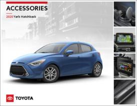 2020 Toyota Yaris Hatchback Accessories
