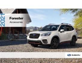 2021 Subaru Forester Accessories