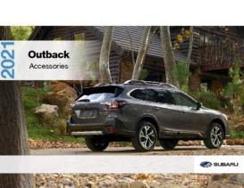 2021 Subaru Outback Accessories