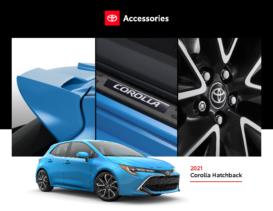 2021 Toyota Corolla Hatchback Accessories